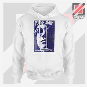 Elton John Fourth Album Poster White Hoodie
