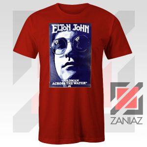 Elton John Poster Singer Red Tshirt