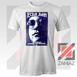 Elton John Poster Singer White Tshirt