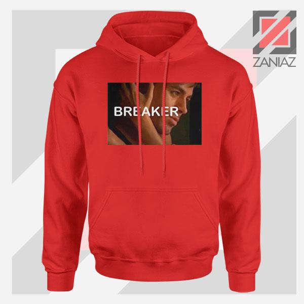 Enrique Iglesias Breaker Red Hoodie