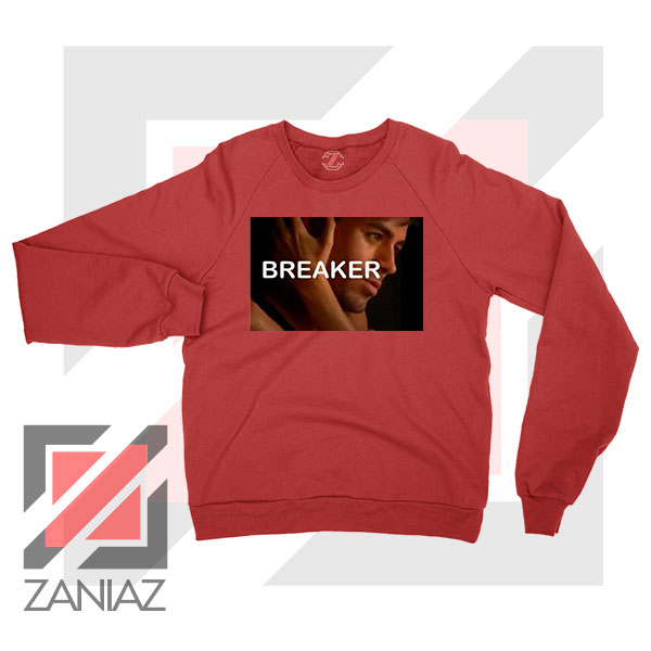 Enrique Iglesias Breaker Red Sweatshirt