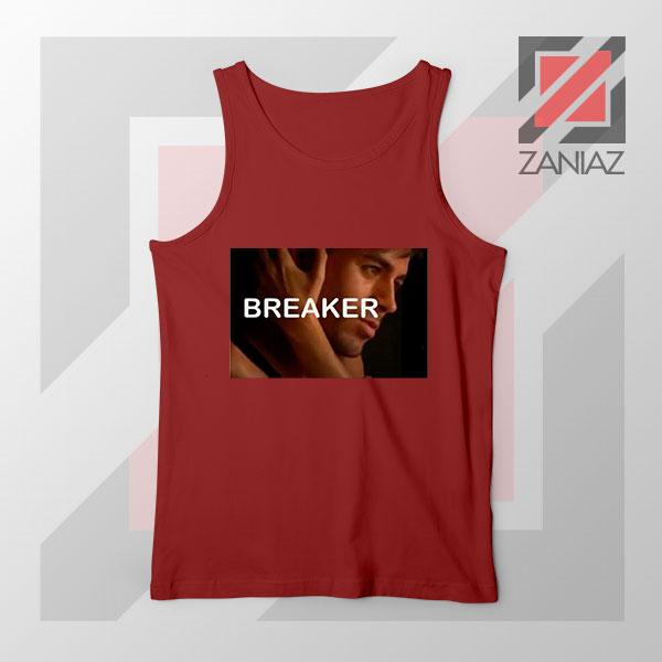 Enrique Iglesias Breaker Red Tank Top