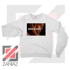 Enrique Iglesias Breaker White Sweatshirt