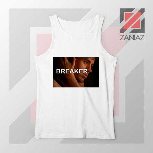 Enrique Iglesias Breaker White Tank Top