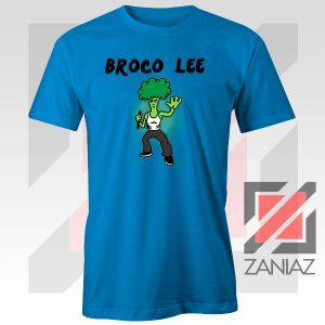 Funny Broco Lee Blue Tshirt