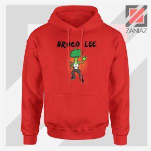 Funny Broco Lee Red Hoodie