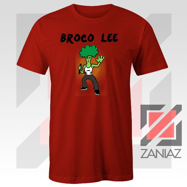 Funny Broco Lee Red Tshirt