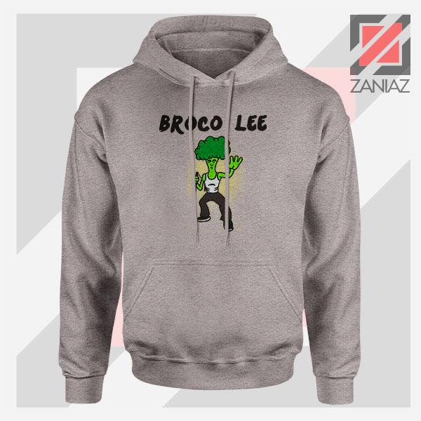 Funny Broco Lee Sport Grey Hoodie