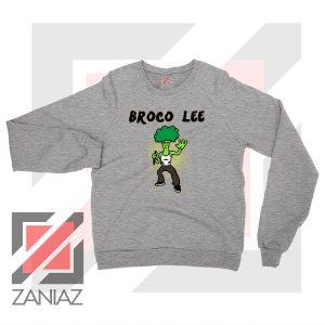 Funny Broco Lee Sport Grey Sweatshirt