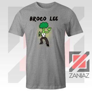 Funny Broco Lee Sport Grey Tshirt