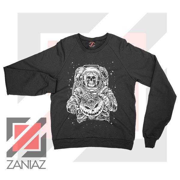 Halloween Graphic NASA Sweatshirt