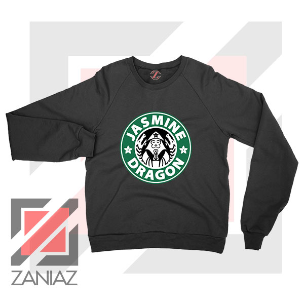 Iroh Jasmine Dragon Tea Logo Black Sweatshirt