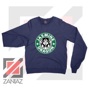 Iroh Jasmine Dragon Tea Logo Navy Blue Sweatshirt