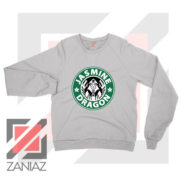 Iroh Jasmine Dragon Tea Logo Sport Grey Sweatshirt