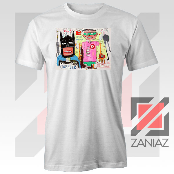 Jean Michel Basquiat Warner Bros Art Tshirt