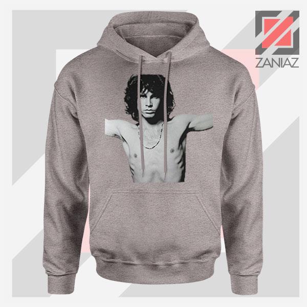 Jim Morrison Musician Graphic Sport Grey Hoodie