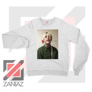 Lil Peep Flower Boy White Sweatshirt