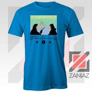 Loki And Sylvie Scene Blue Tshirt