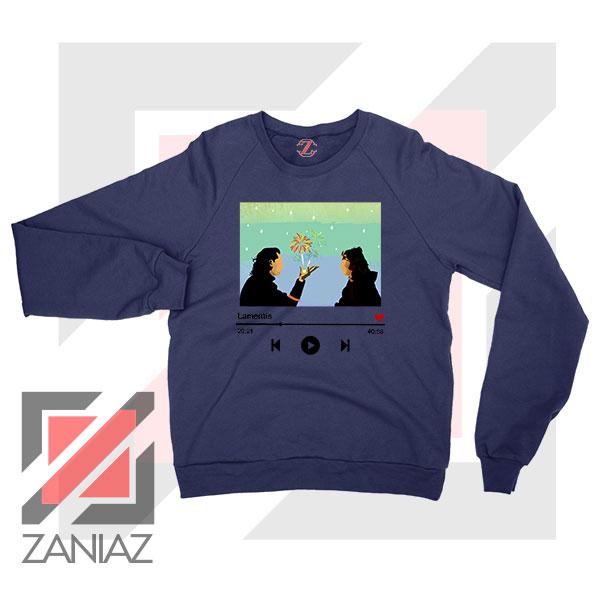 Loki And Sylvie Scene Navy Blue Sweatshirt