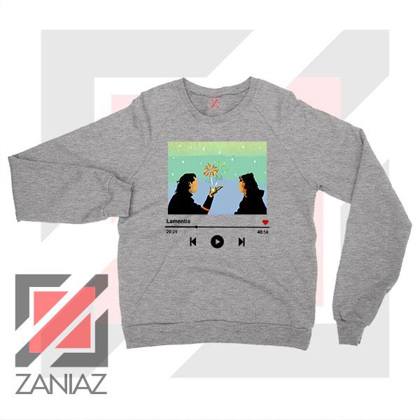Loki And Sylvie Scene Sport Grey Sweatshirt