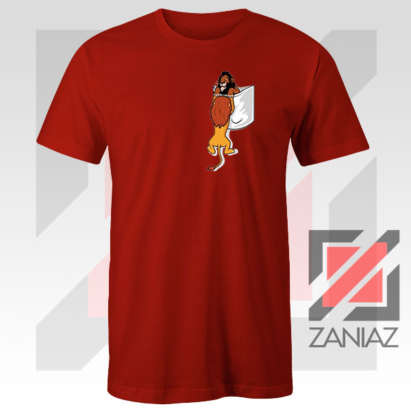 Long Live The King Mufasa Graphic Red Tshirt