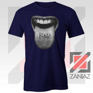 MGK Binge Album Rapper Graphic Navy Blue Tshirt