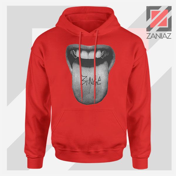 MGK Binge Album Rapper Graphic Red Hoodie