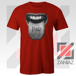 MGK Binge Album Rapper Graphic Red Tshirt