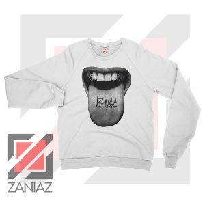 MGK Binge Album Rapper Graphic White Sweatshirt