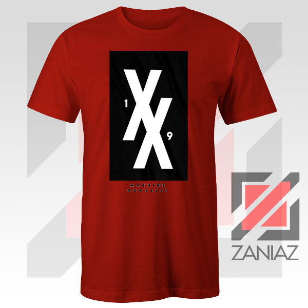 Machine Gun Kelly 19 Double Xs Forever Red Tee