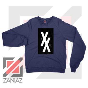 Machine Gun Kelly 19XX Forever Navy Blue Sweater