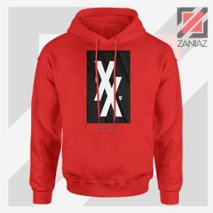 Machine Gun Kelly 19XX Forever Red Hoodie