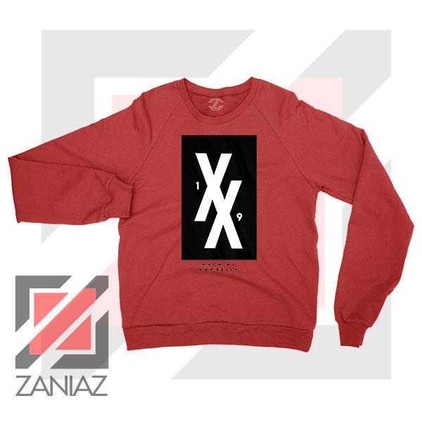 Machine Gun Kelly 19XX Forever Red Sweater