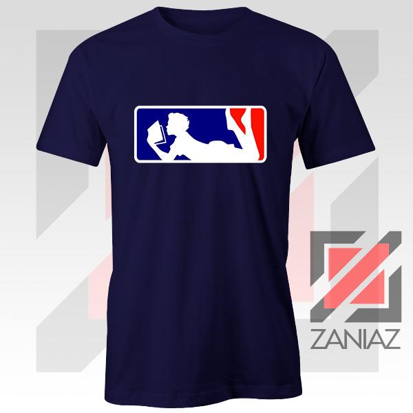 Major League Logo Reading Navy Blue Tshirt