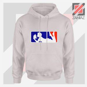 Major League Logo Reading Sport Grey Hoodie