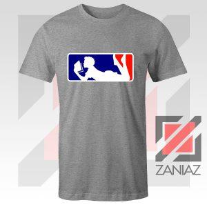 Major League Logo Reading Sport Grey Tshirt