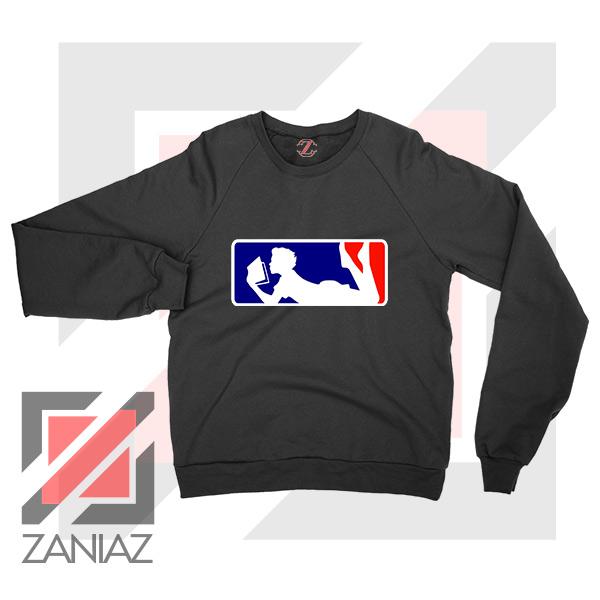 Major League Logo Reading Sweatshirt