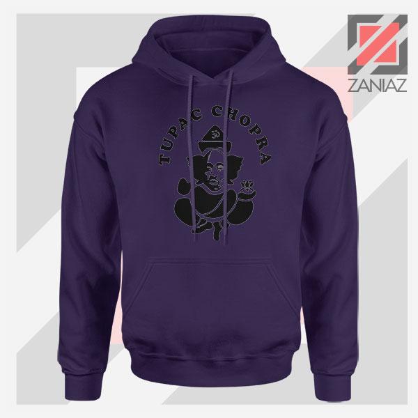 Makaveli Chopra Graphic Navy Blue Hoodie