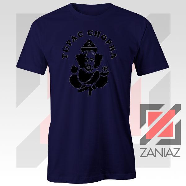 Makaveli Chopra Graphic Navy Blue Tshirt