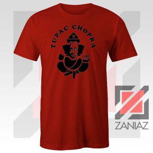 Makaveli Chopra Graphic Red Tshirt