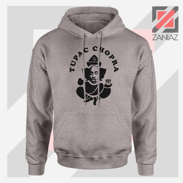 Makaveli Chopra Graphic Sport Grey Hoodie