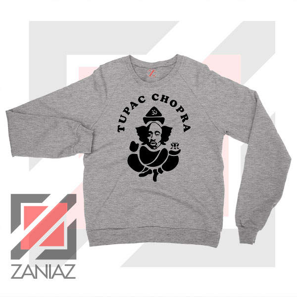 Makaveli Chopra Graphic Sport Grey Sweater