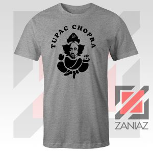 Makaveli Chopra Graphic Sport Grey Tshirt