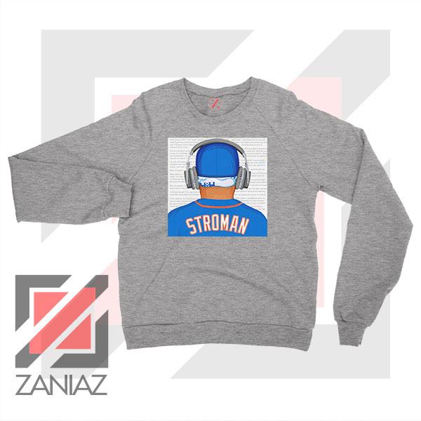 Marcus Stroman Behind Sport Grey Sweatshirt