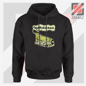 Mariguana Smoke Animal Black Hoodie