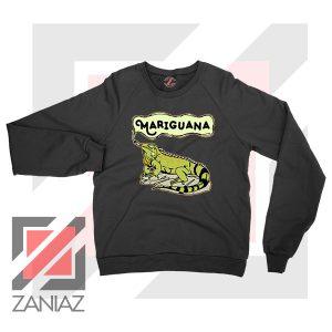 Mariguana Smoke Animal Black Sweatshirt