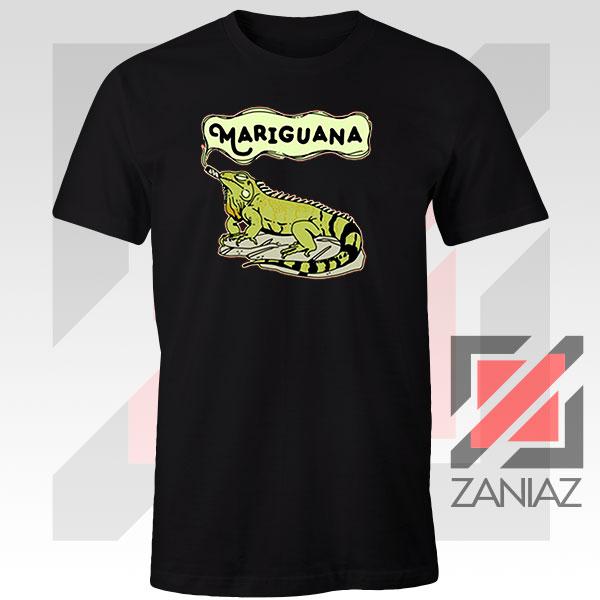 Mariguana Smoke Animal Black Tshirt