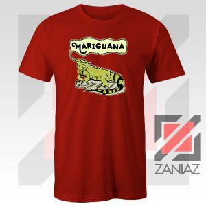 Mariguana Smoke Animal Red Tshirt