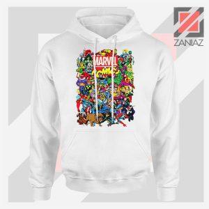 Marvel Comic Hero Collage Hoodie