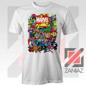 Marvel Comic Hero Collage Tshirt